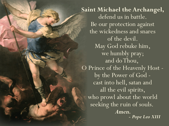 Parish Pew Cards - St. Michael / Vocations Prayers After Mass