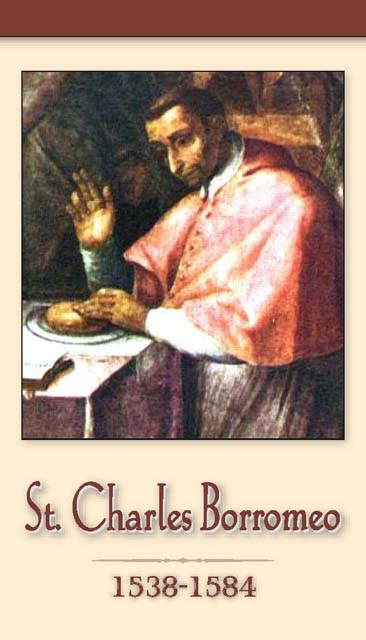 St. Charles Borromeo Prayer Card