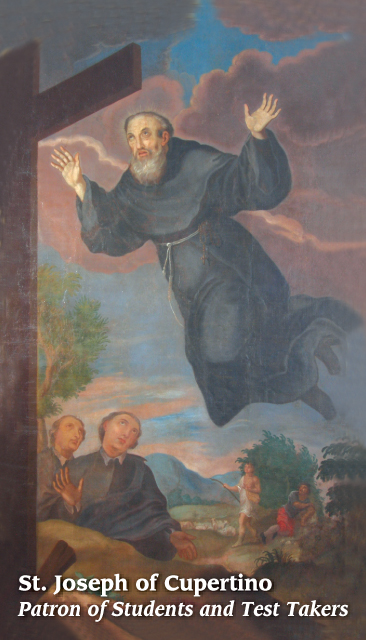 St. Joseph of Cupertino Prayer Card