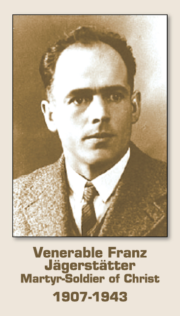Venerable Franz Jagerstatter Prayer Card