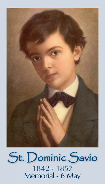 St. Dominic Savio Prayer Card