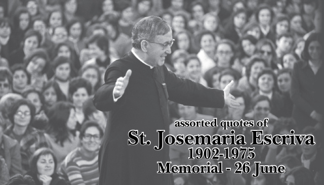 St. Josemaria Escriva Prayer Card