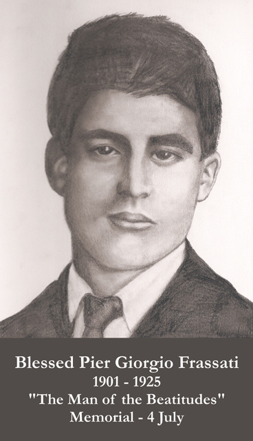 Bl. Pier Giorgio Frassati Prayer Card
