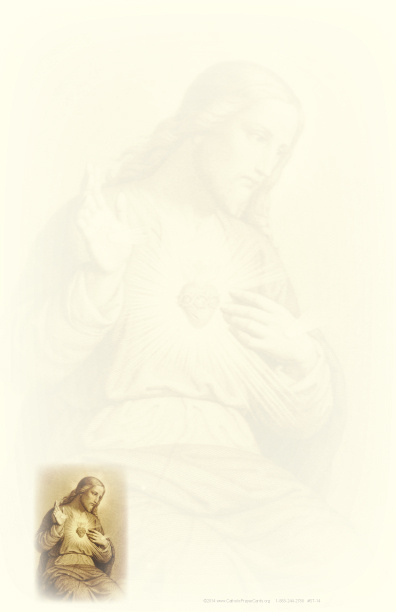Sacred Heart of Jesus Stationery