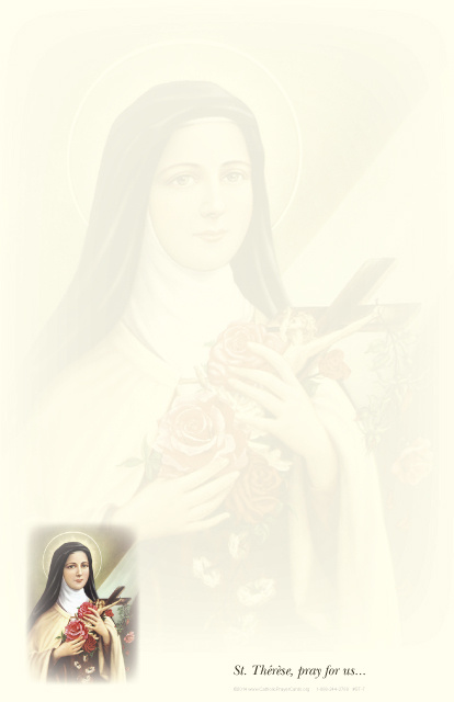 St. Therese of Lisieux Stationery