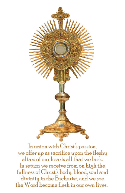 Eucharist / Monstrance Magnet
