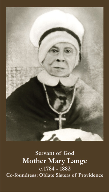 Servant of God Mother Mary Lange
