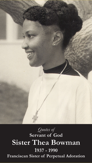 Servant of God Sister Thea Bowman