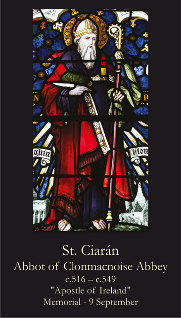 St. Ciaran Prayer Card