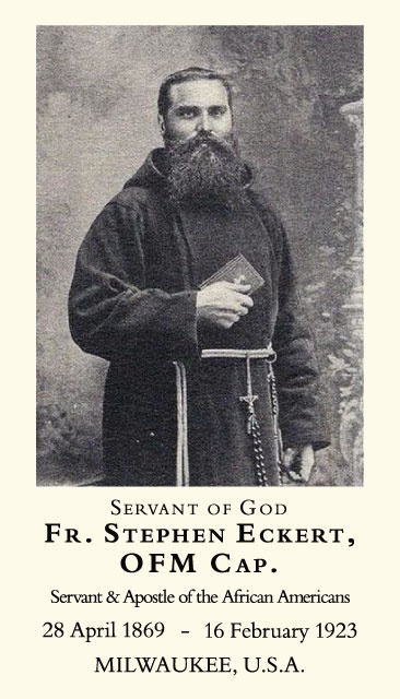 Servant of God Fr. Stephen Eckert Holy Card