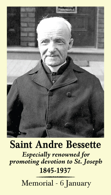 St. Andre Bessette Prayer Card