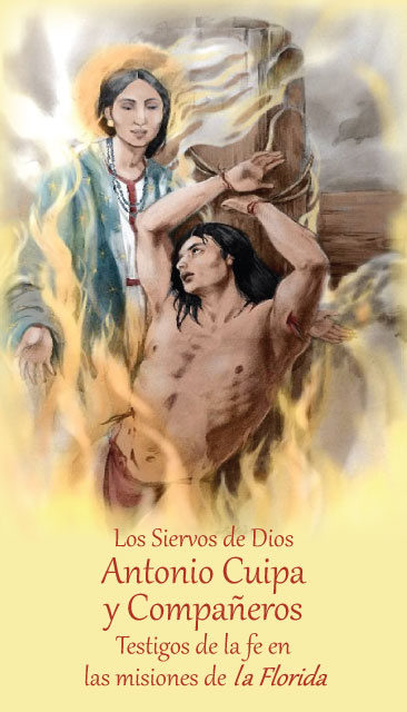Servants of God Antonio Cuipa and 81 Companions Prayer Card ***SPANISH***