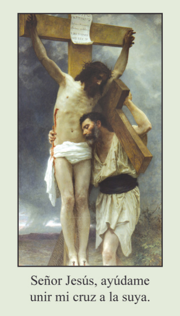 *SPANISH* Stations of the Cross Prayer Card