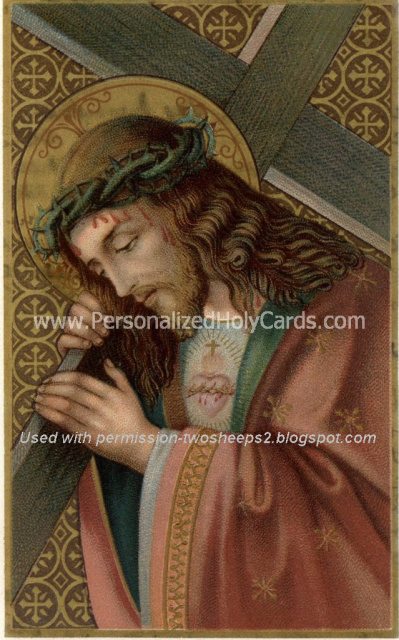 *SPANISH* Sacred Heart Miracle Prayer Card